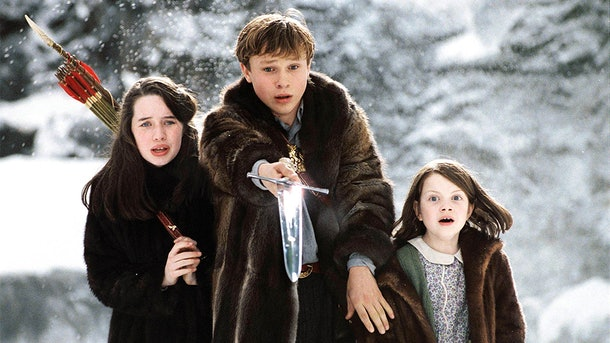 """Anna Popplewell, William Moseley, and Georgie Henley play siblings in """"The Chronicles of Narnia: The Lion, the Witch, and the Wardrobe."""""""