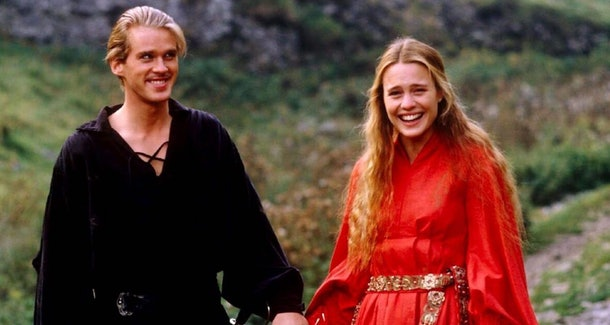 """Cary Elwes and Robin Wright star in """"The Princess Bride."""""""