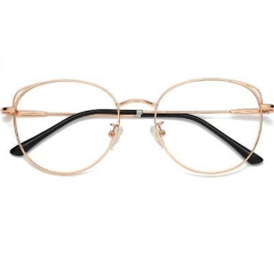 SOJOS Cat Eye Blue Light Blocking Glasses