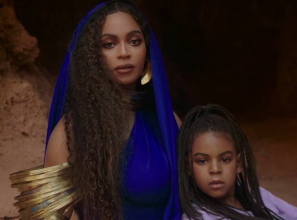 """Beyoncé and Blue Ivy Carter appear together in """"Black Is King."""""""