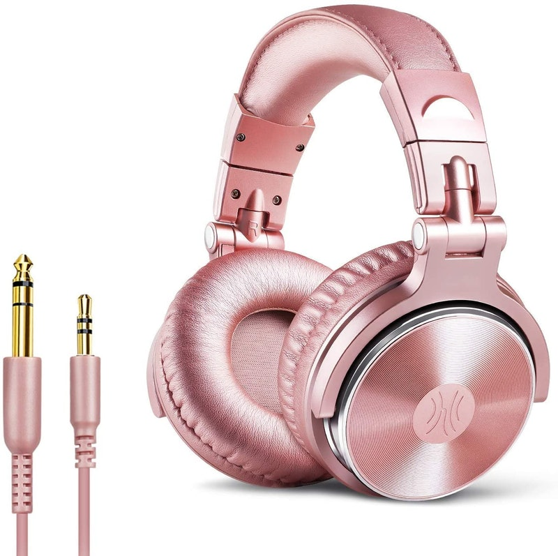 Pink headphones from Amazon