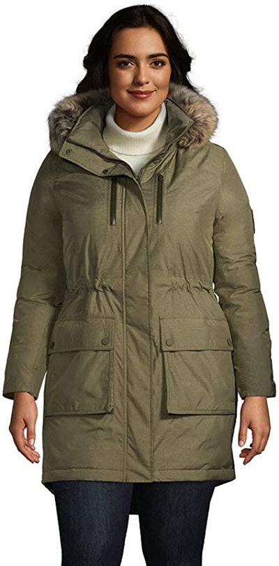 Lands' End Women's Expedition Down Winter Parka