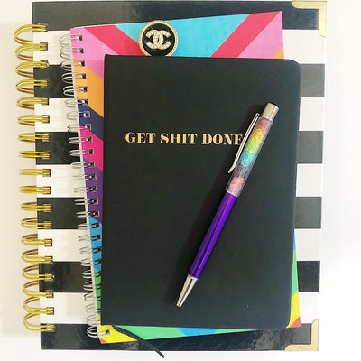 """Get Shit Done"" Notebook and Bullet Journal"