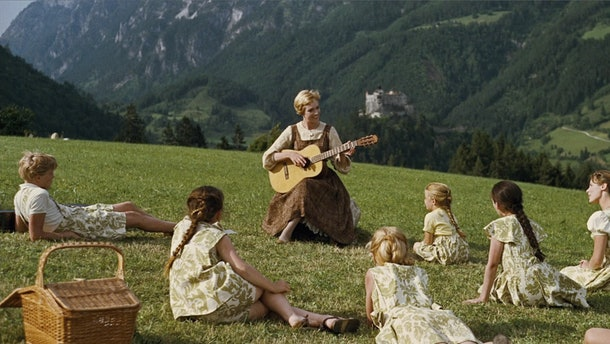 """Julie Andrews leads """"The Sound of Music's"""" ensemble cast."""