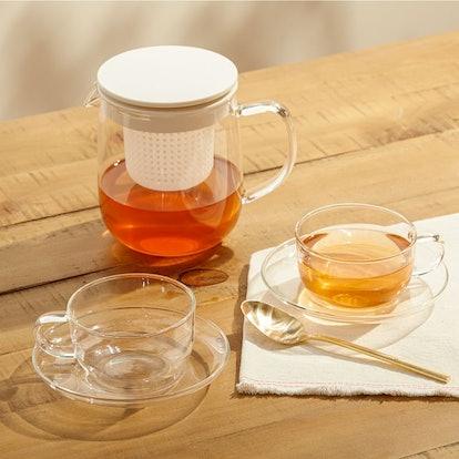 Muji Heat-Resistant Tea Set