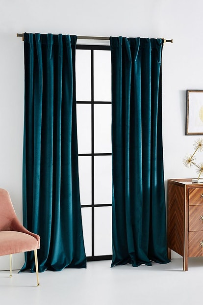 Velvet Louise Curtain