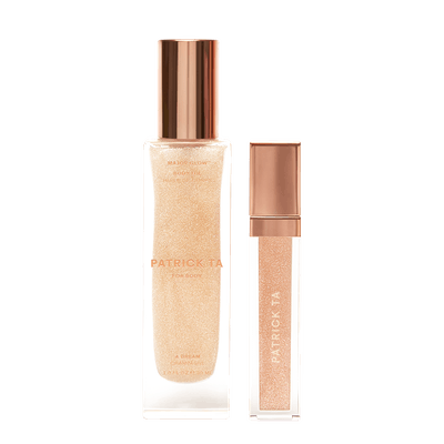 Major Glow on the Go Lip Shine + Body Oil Duo