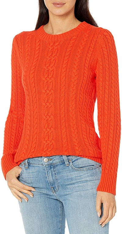 Amazon Essentials Fisherman Cable Sweater