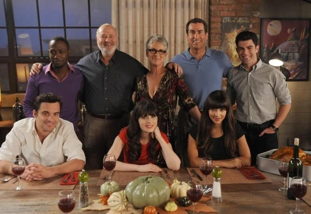 These 'New Girl' Thanksgiving Zoom backgrounds will bring all the humor to the holiday.