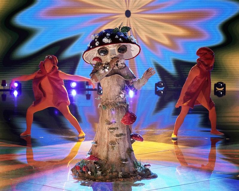 Mushroom in the 'Masked Singer' Group C, via FOX press site.