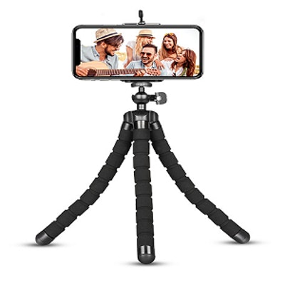 Phone Tripod With Wireless Remote & Phone Clip