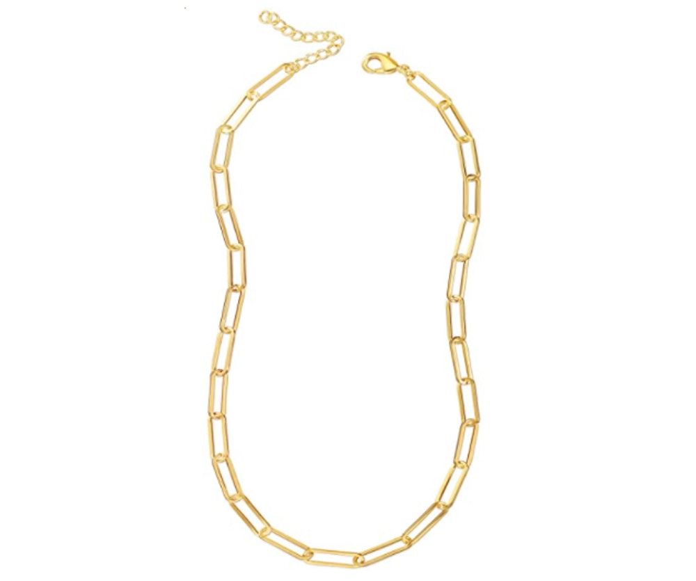 Reoxvo Gold Chain Necklace