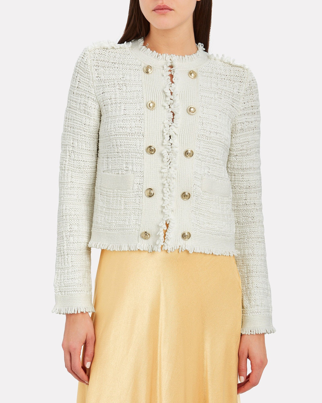 Lila Cropped Knit Jacket