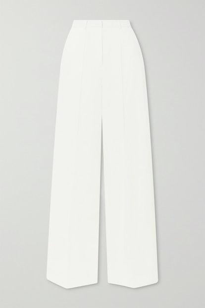 Reao Pleated Linen Wide-Leg Pants