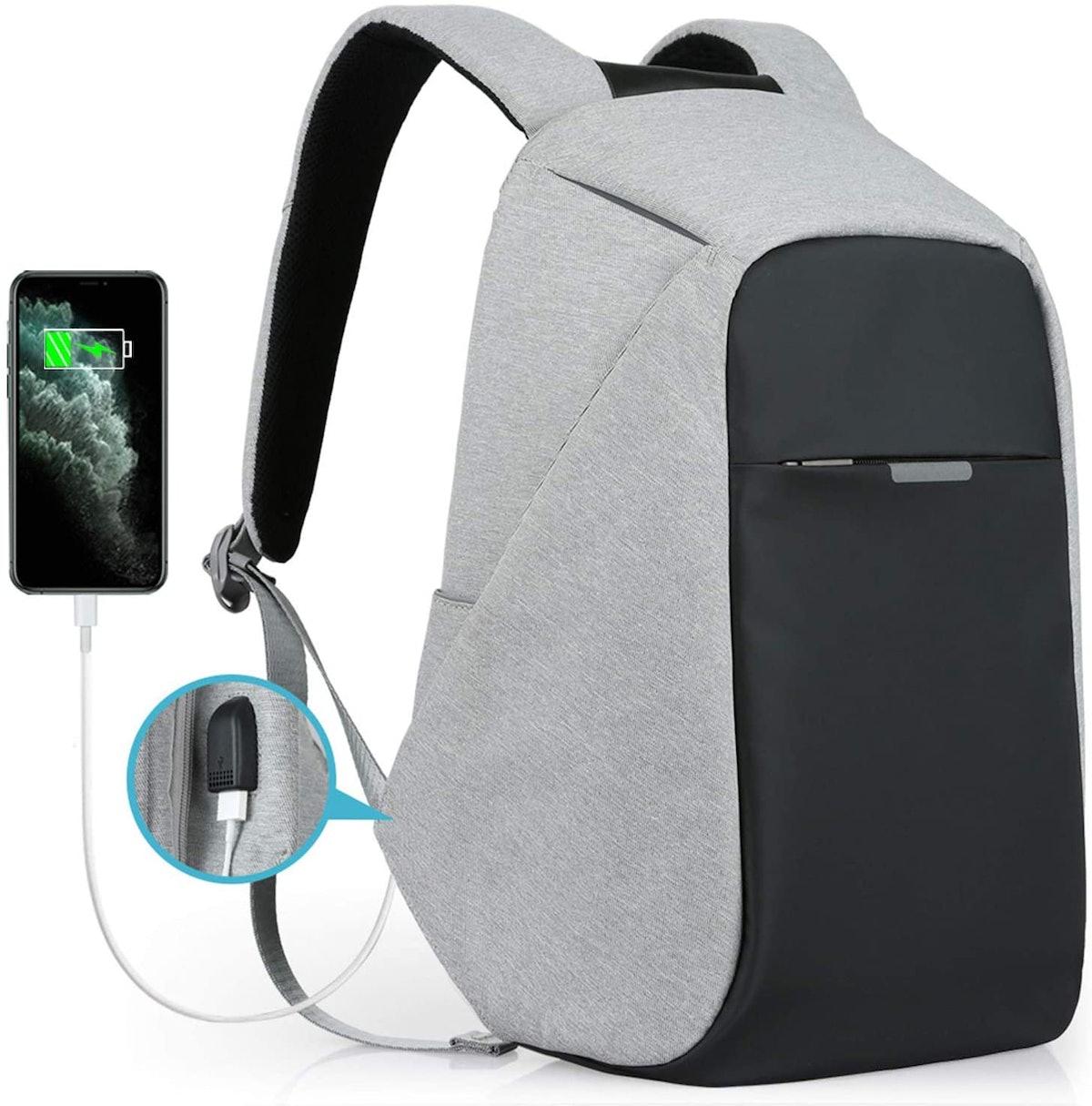 Oscaurt Anti-theft Travel Laptop Backpack