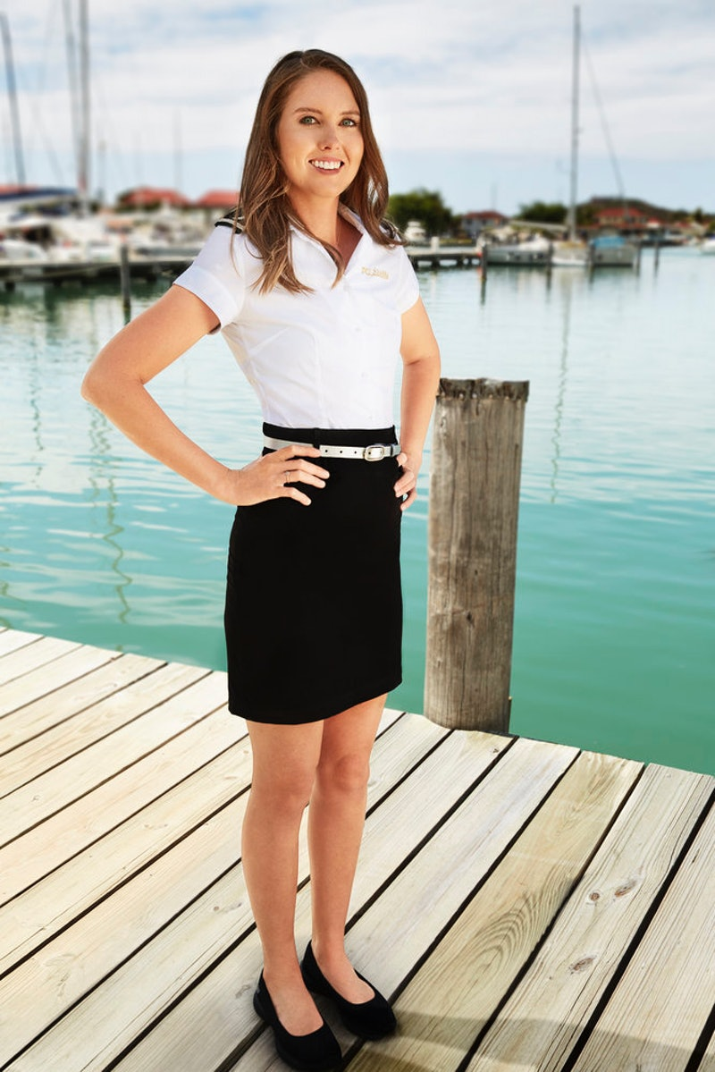 "Isabelle ""Izzy"" Wouters from 'Below Deck' Season 8 via Bravo's press site"