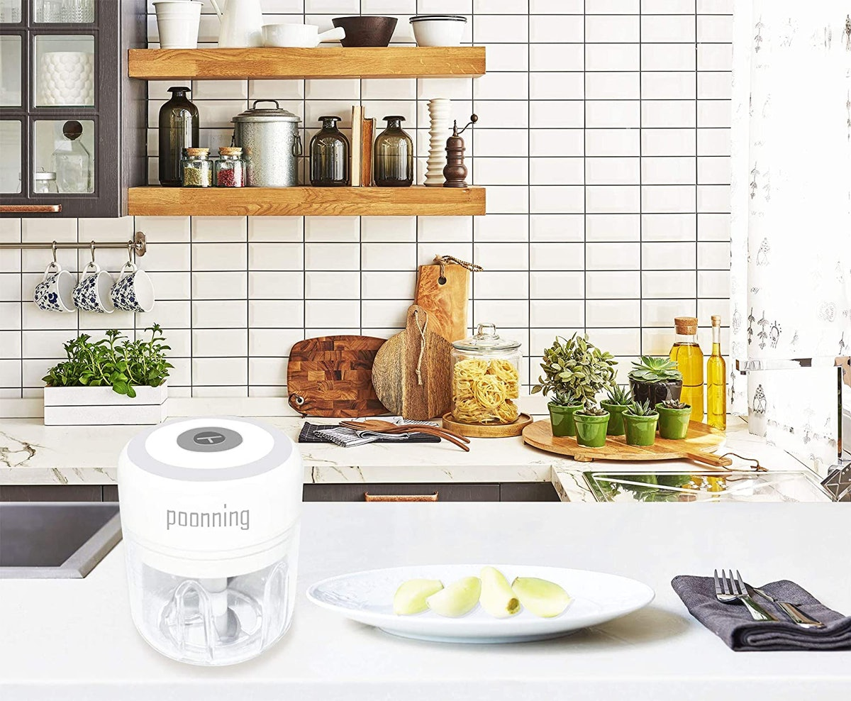 Poonning Electric Mini Food Slicer And Chopper