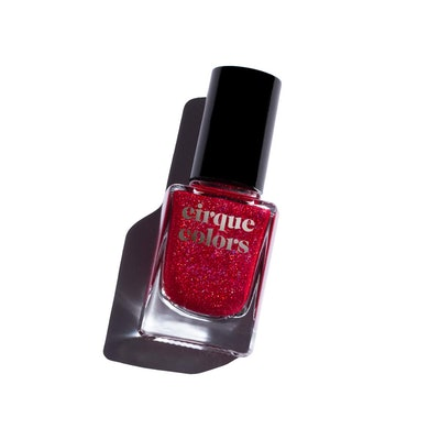 Cirque Colors Holographic Jelly Nail Polish in Ruby