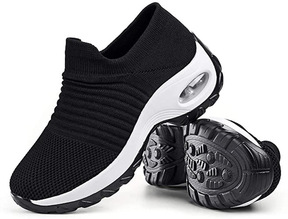 Slow Man Mesh Slip On Walking Shoes