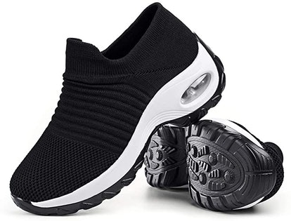 Slow Man Mesh Slip On Walking Shoes