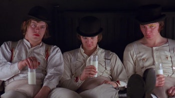 a clockwork orange milk