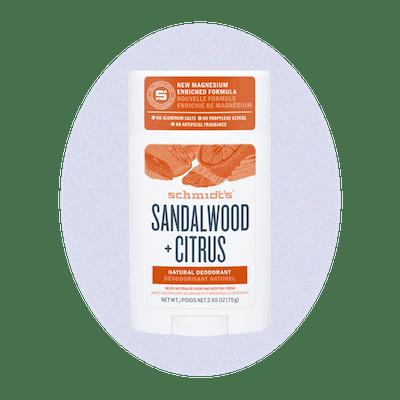 Sandalwood + Citrus Deodorant Stick
