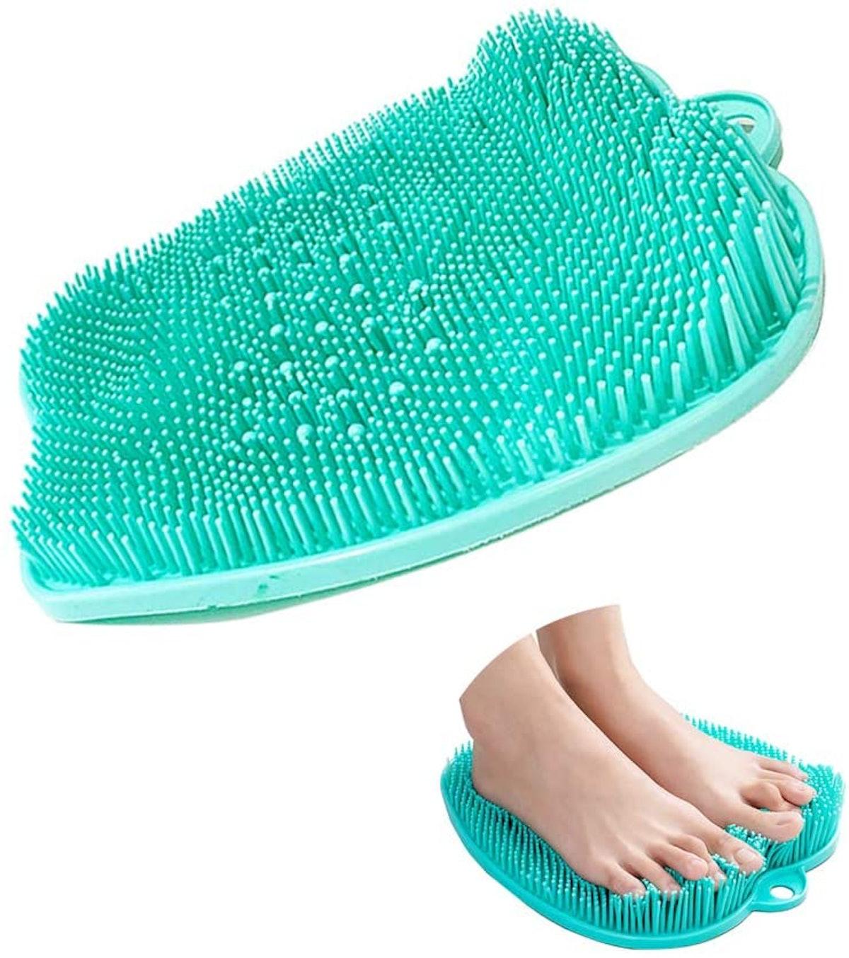 Mwellewm Shower Foot Scrubber Massager