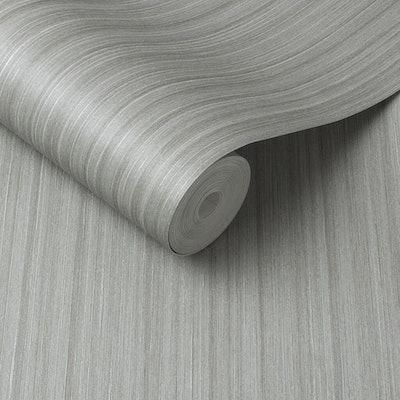 Silk Silver Wallpaper