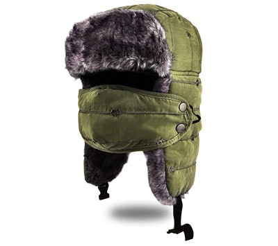 BROTOU Winter Trapper Hat With Mask Cover