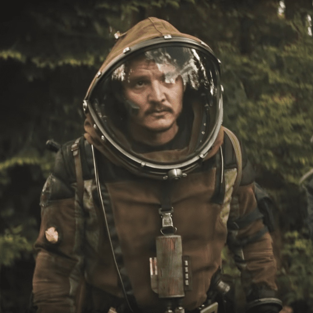 Pedro Pascal in 'Prospect.'