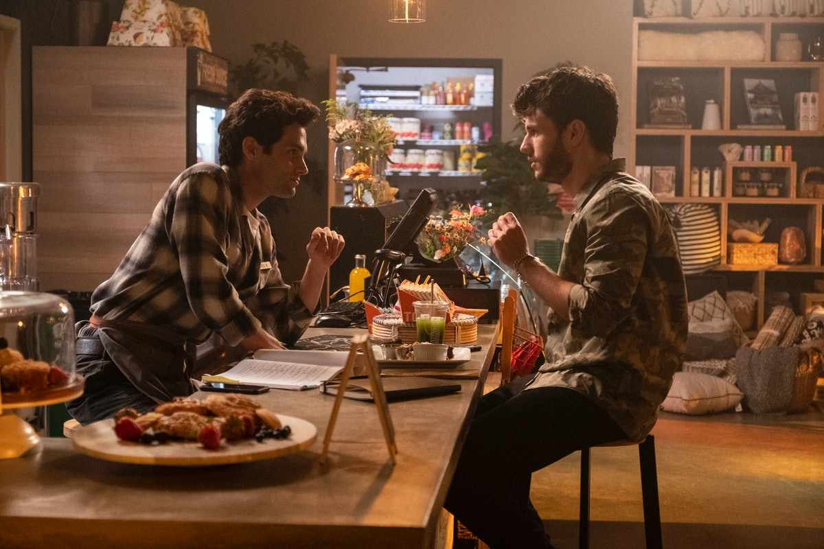 Penn Badgley, James Scully in 'You'