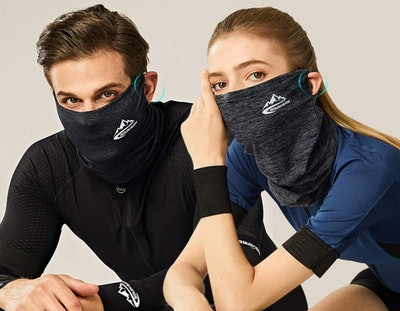 Goldenguy Neck Gaiter Face Mask With PM2.5 Filters