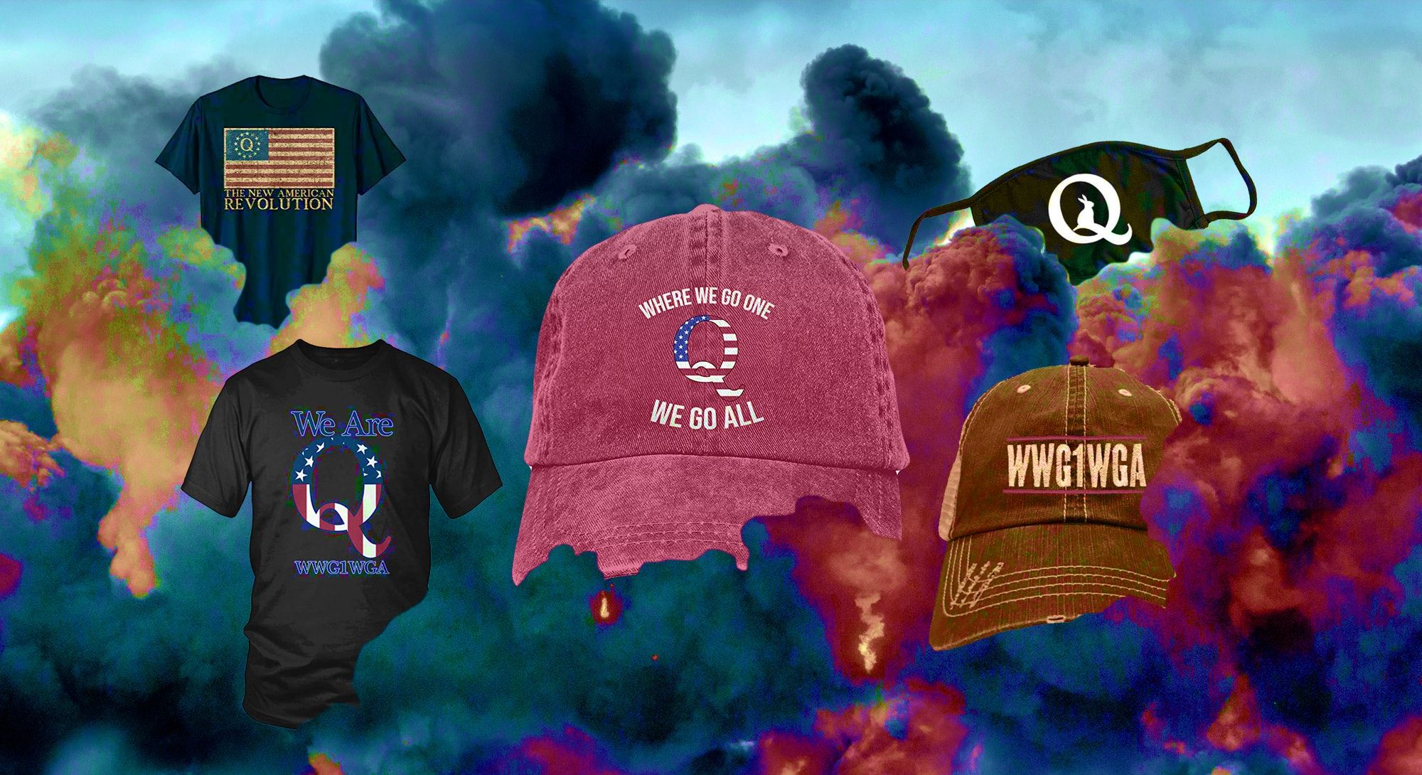 QAnon merch goes a long way in legitimizing the conspiracy theory, say experts. It also enriches the entrepreneurs who make the hats, masks, and shirts.