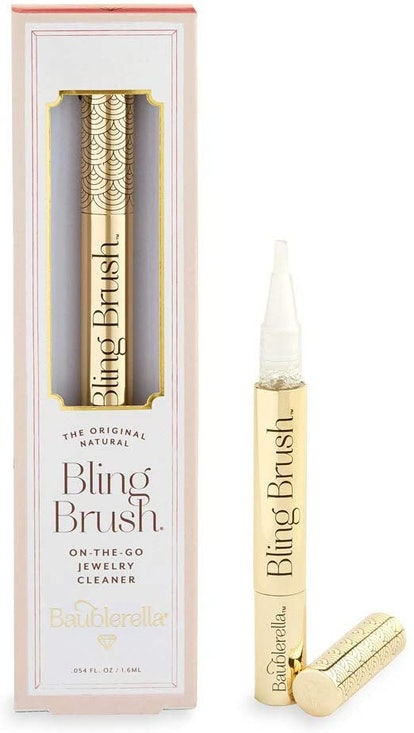 Baublerella Bling Brush Natural On-The-Go Jewelry Cleaner Pen