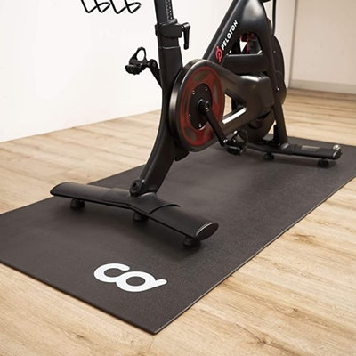 CyclingDeal Workout Mat For Indoor Exercise Equipment