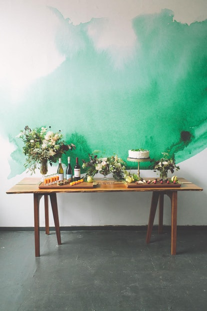 Etsy is an interior designer-recommended place to buy wallpaper online
