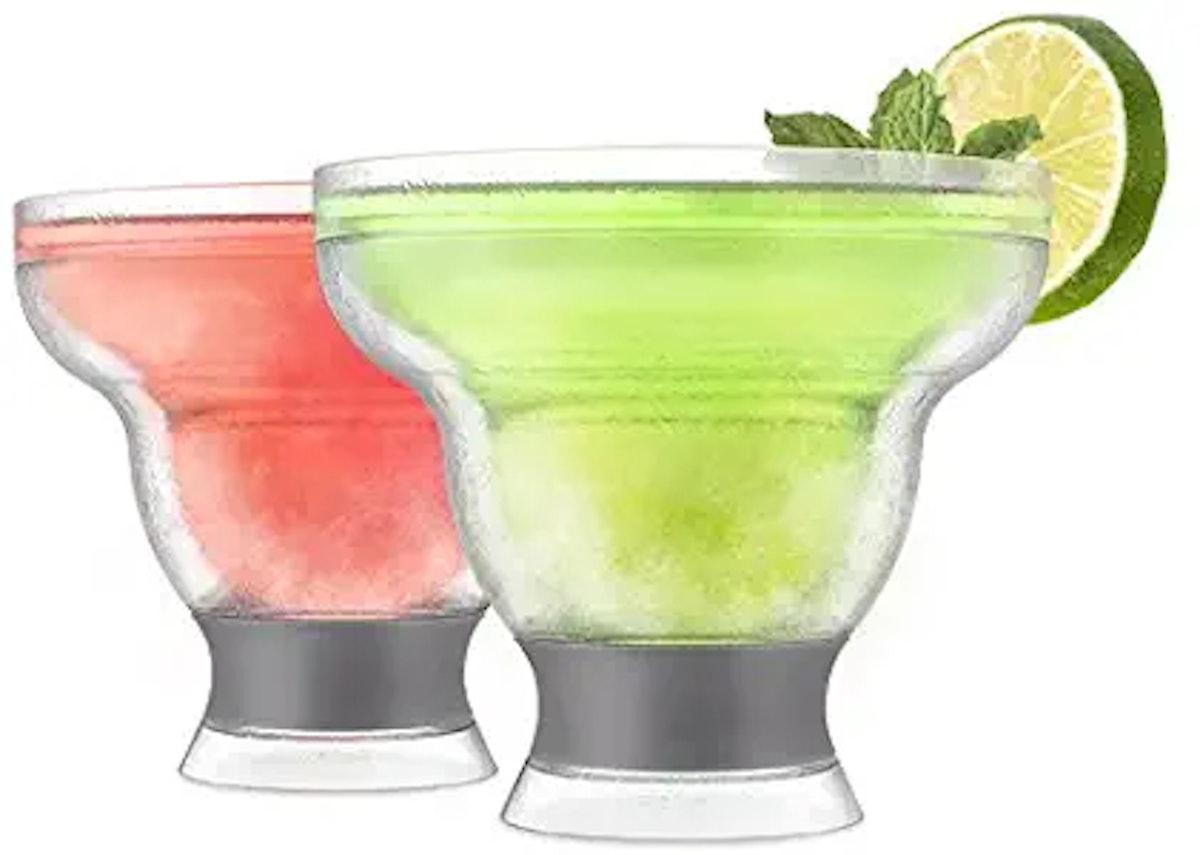 HOST Freeze Stemless Margarita Glass
