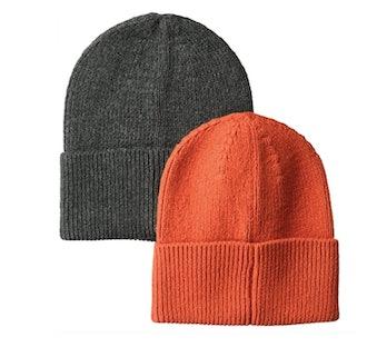 Amazon Essentials Men's 2-Pack Knit Beanie