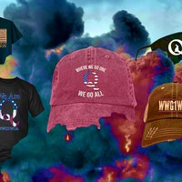 QAnon merch: How masks legitimize the conspiracy theory — and enrich the sellers