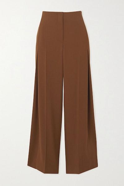Alexa Wool-Twill Pants