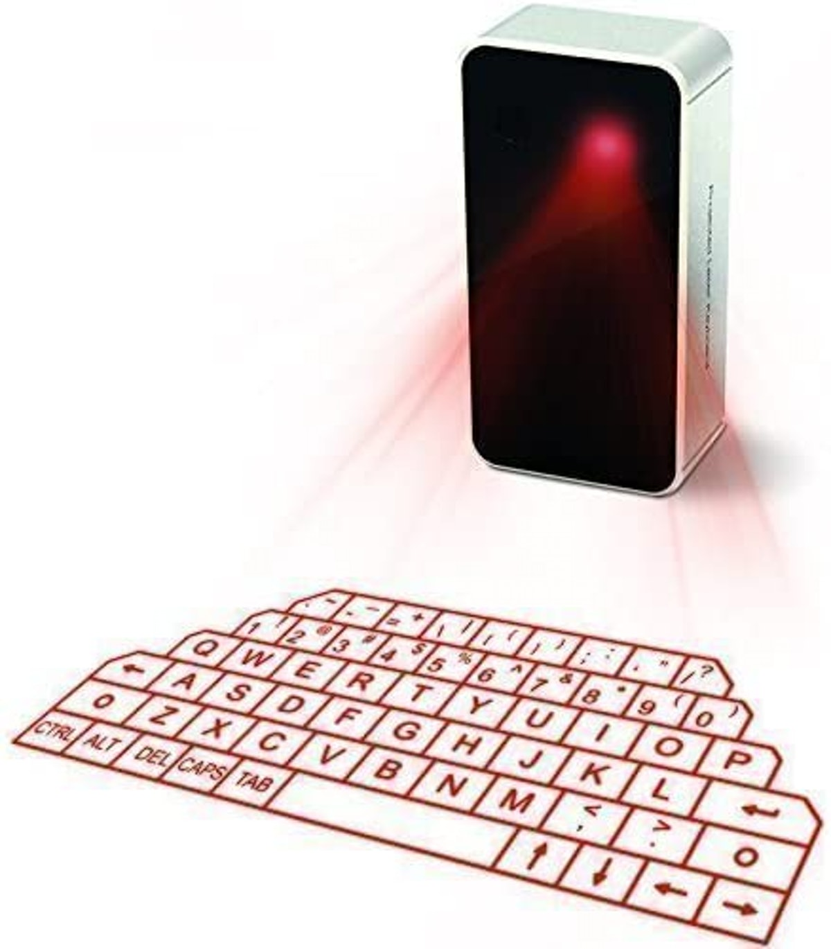 AGS Wireless Laser Projection Bluetooth Virtual Keyboard