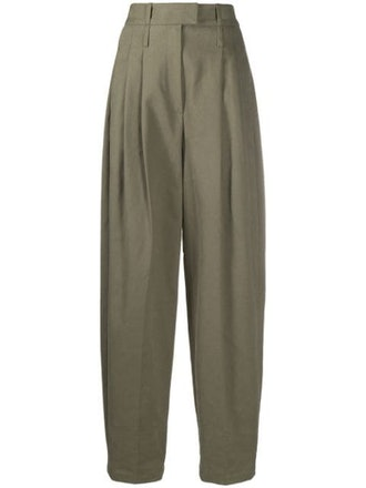 Oversized Tapered Trousers