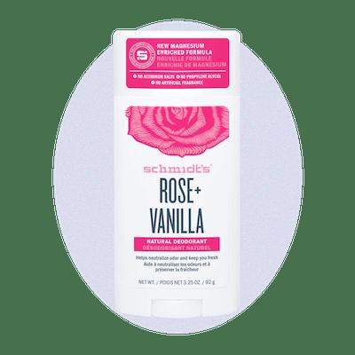 Rose + Vanilla Deodorant Stick