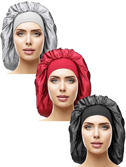 Satin Sleep Cap (3-Pieces)