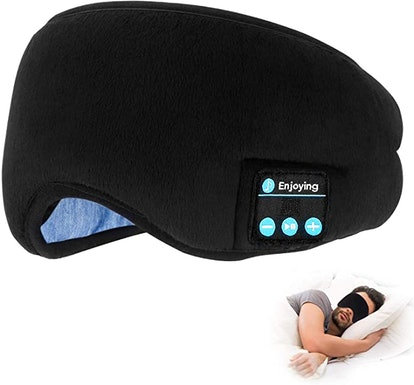 TOPOINT Bluetooth Sleep Eye Mask Wireless Headphones
