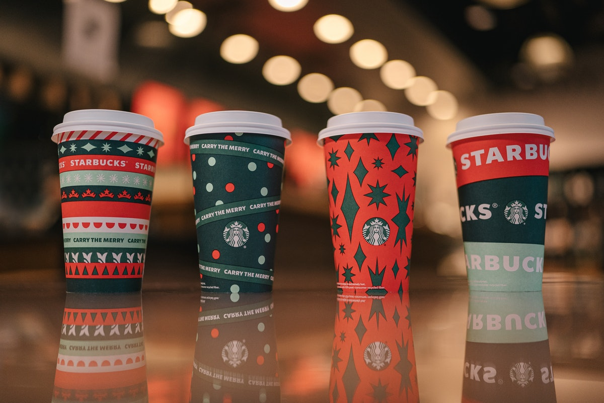 Starbucks' holiday drinks for 2020 will launch on Nov. 6.