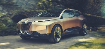 BMW's iNEXT all-electric concept design.