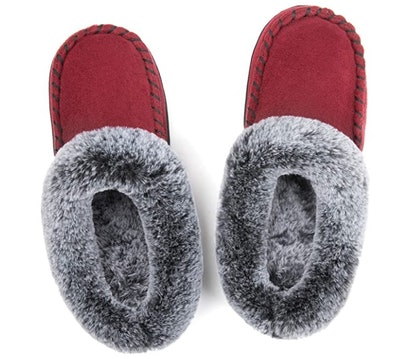 ULTRAIDEAS Women's Moccasin Slippers