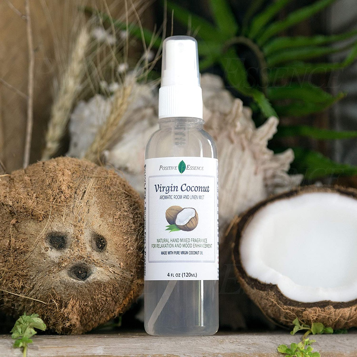 Positive Essence Positive Essence Virgin Coconut Linen and Room Spray