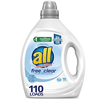 All Liquid Laundry Detergent, 82.5 Ounces